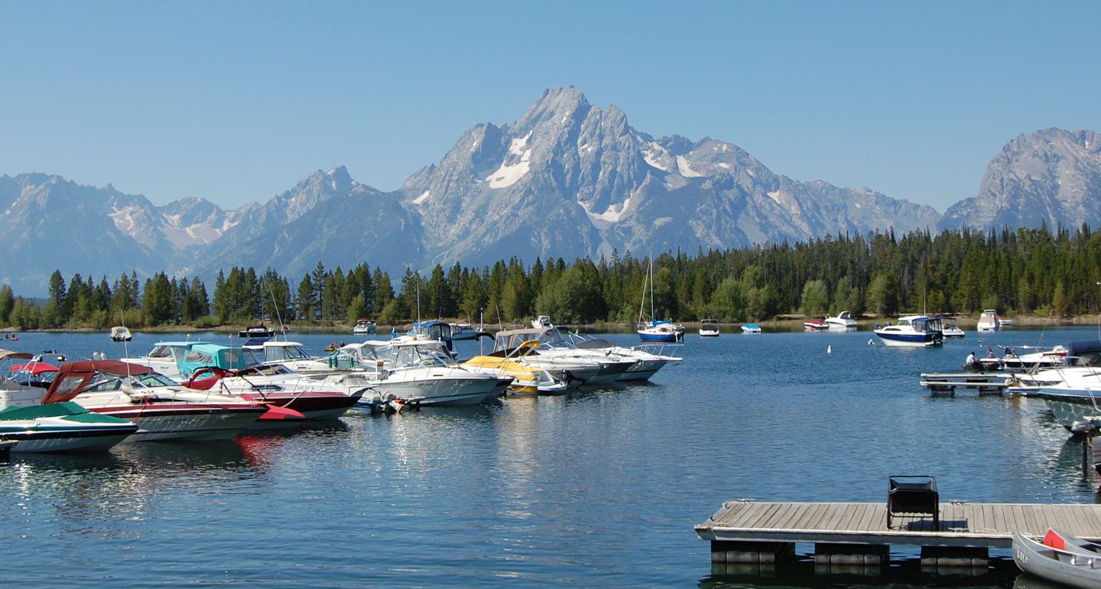 Jackson Lake Wyoming Places Ventured Things I Have