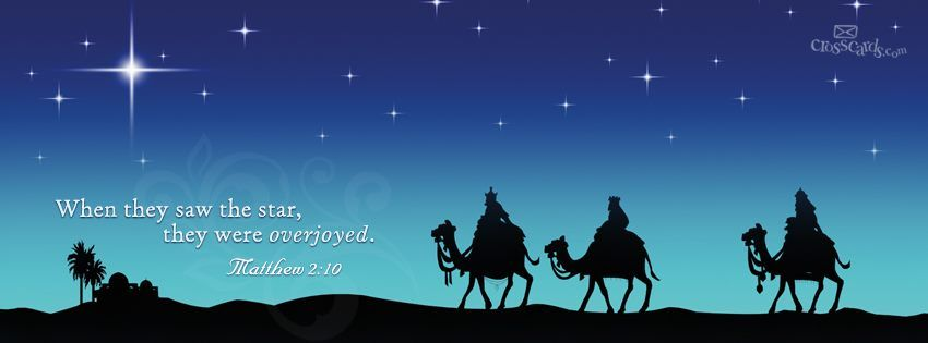 Wise men following the star ☆christmas☆。 。 pinterest