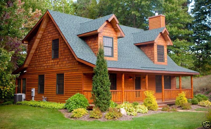 Beautiful Log House Log Cabin Living Pinterest