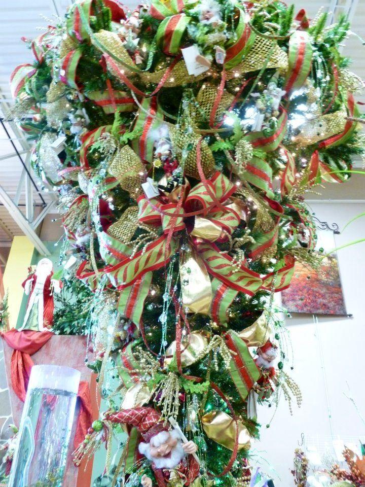 Upside Down Christmas Tree Christmas Tree Decorations