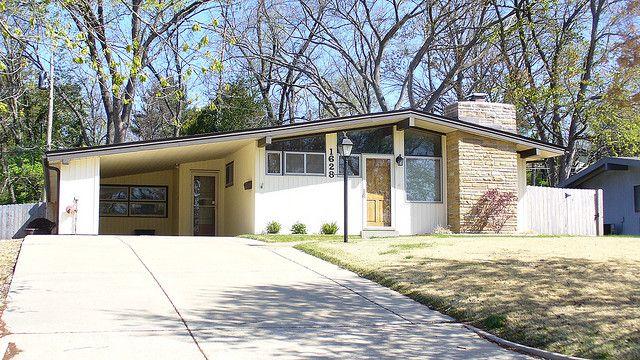 Mid Century House Atomic Ranch Design Pinterest