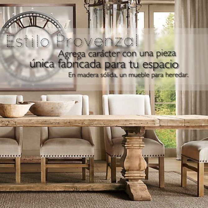 Estilo provenzal la sastreria de muebles pinterest - Muebles estilo provenzal ...