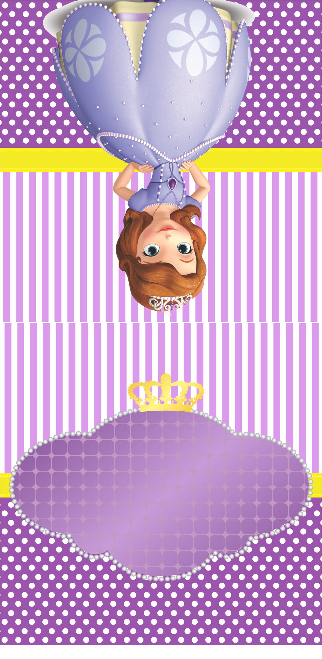 CASE PIRULITO Princesa Sophia | Decoração de festa infantil