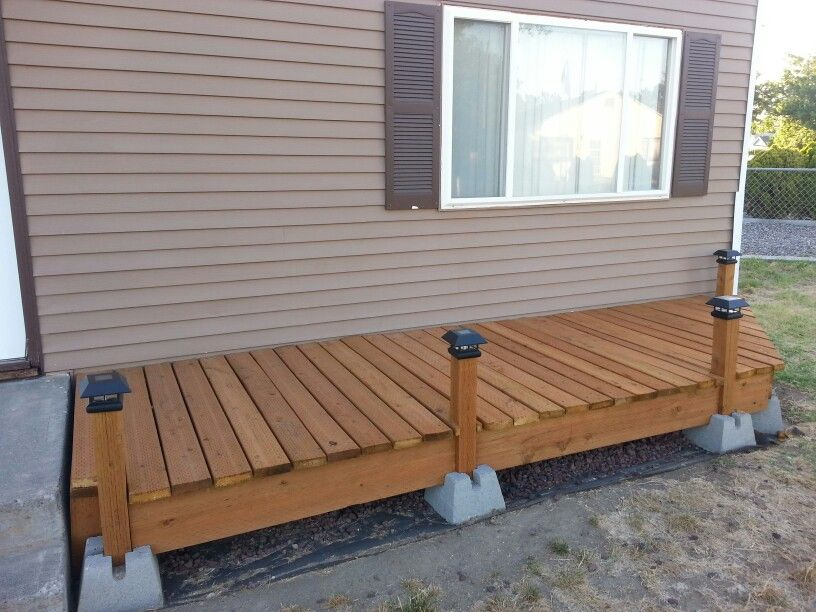 Floating deck pictures to pin on pinterest pinsdaddy for How to build a cheap floating deck