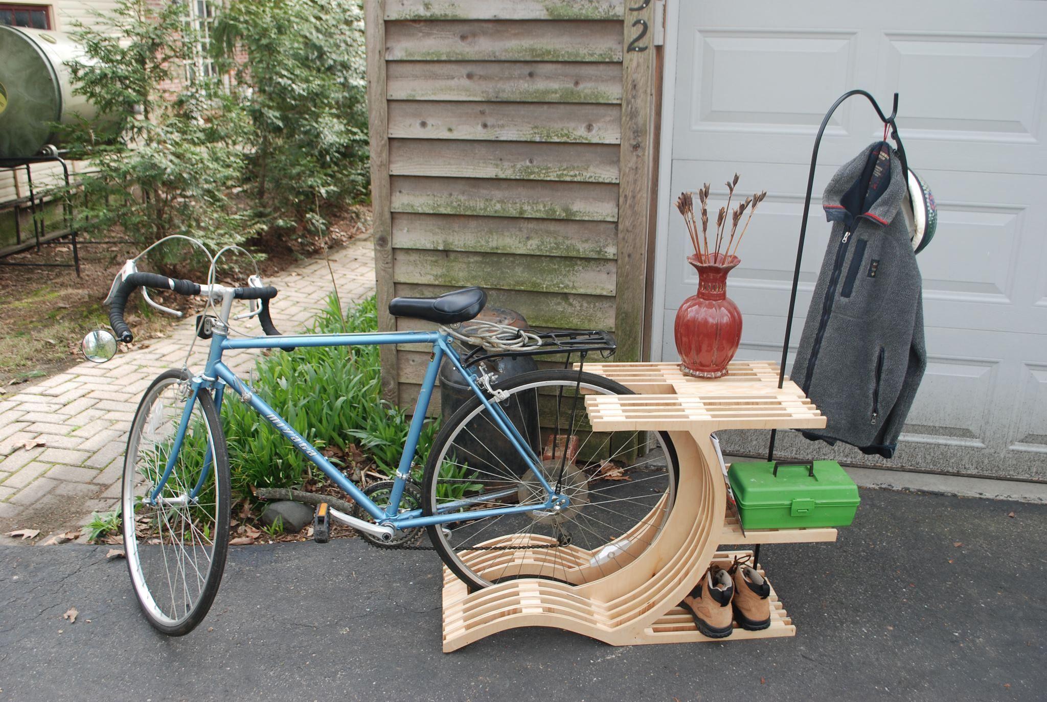 Bike Rack Bike Racks Indoor Ad Outdoor Pinterest