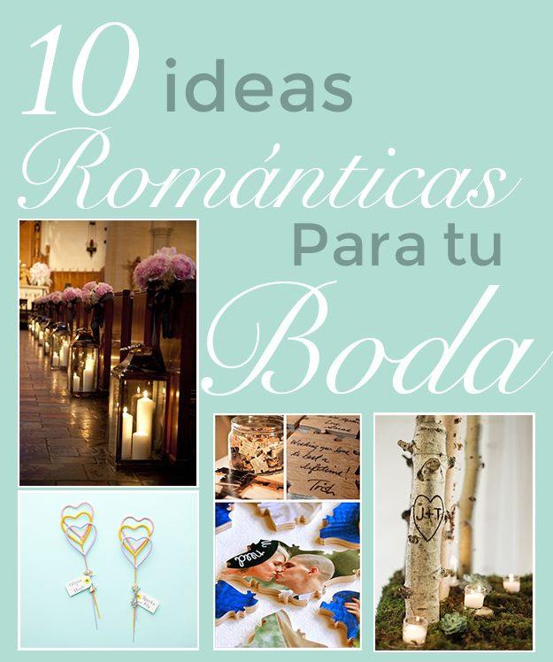 Lluvia de ideas para tu boda