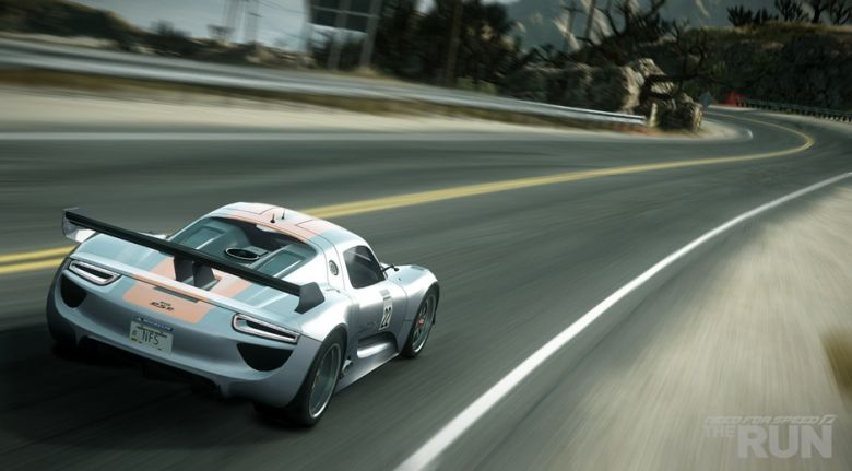 porsche 918 rsr need for speed the run need for speed. Black Bedroom Furniture Sets. Home Design Ideas