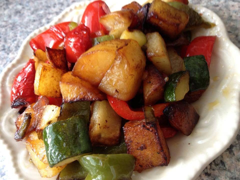 Ciambotta - Italian Vegetable Stew | Italian Christmas | Pinterest