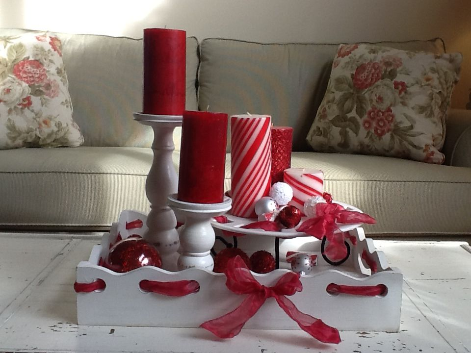 christmas coffee table idea christmas decorating pinterest