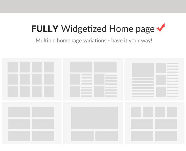 Hỗ trợ nhiều dạng layout khác nhau