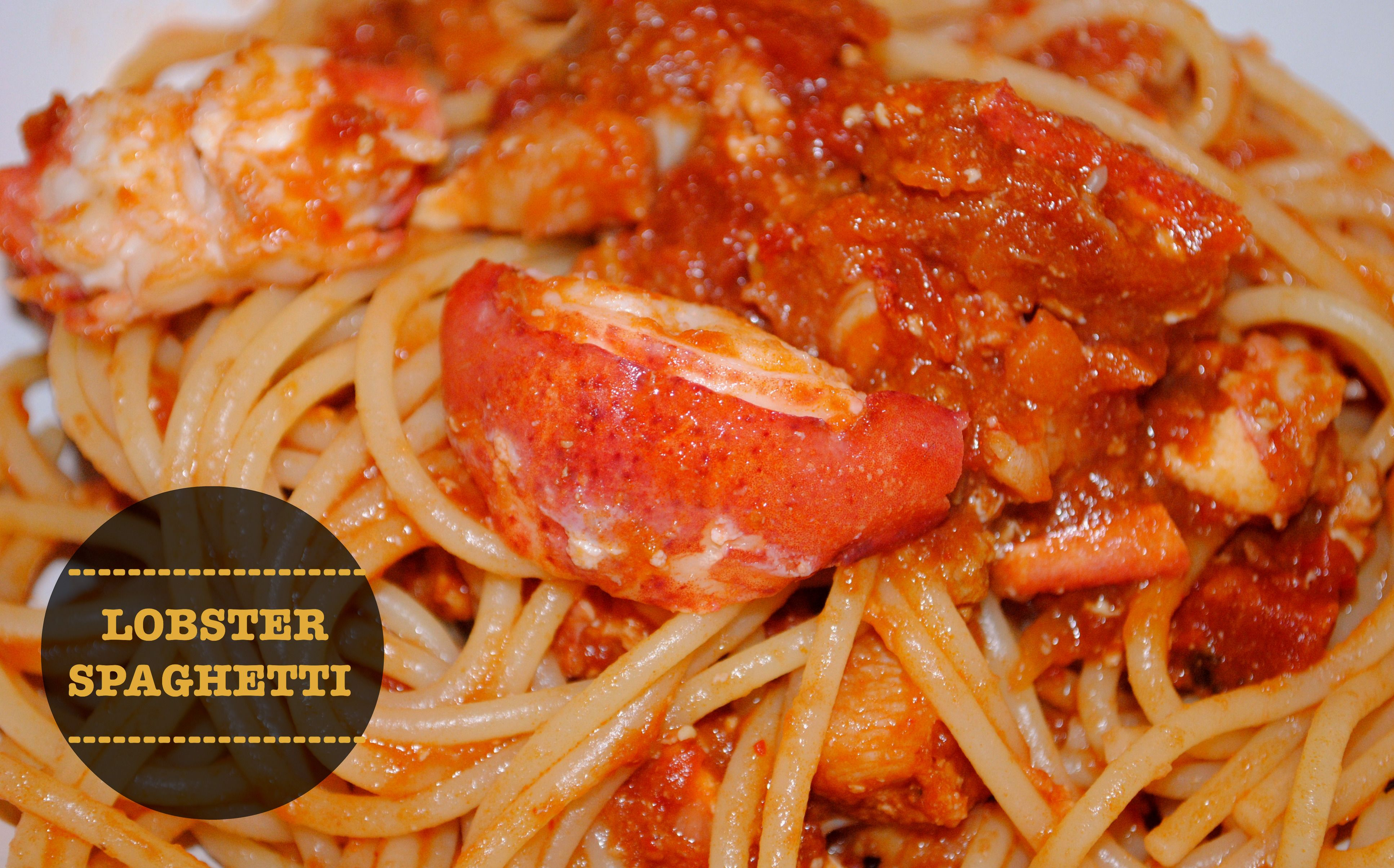 Lobster Spaghetti | YUMMY FOOD:0) | Pinterest