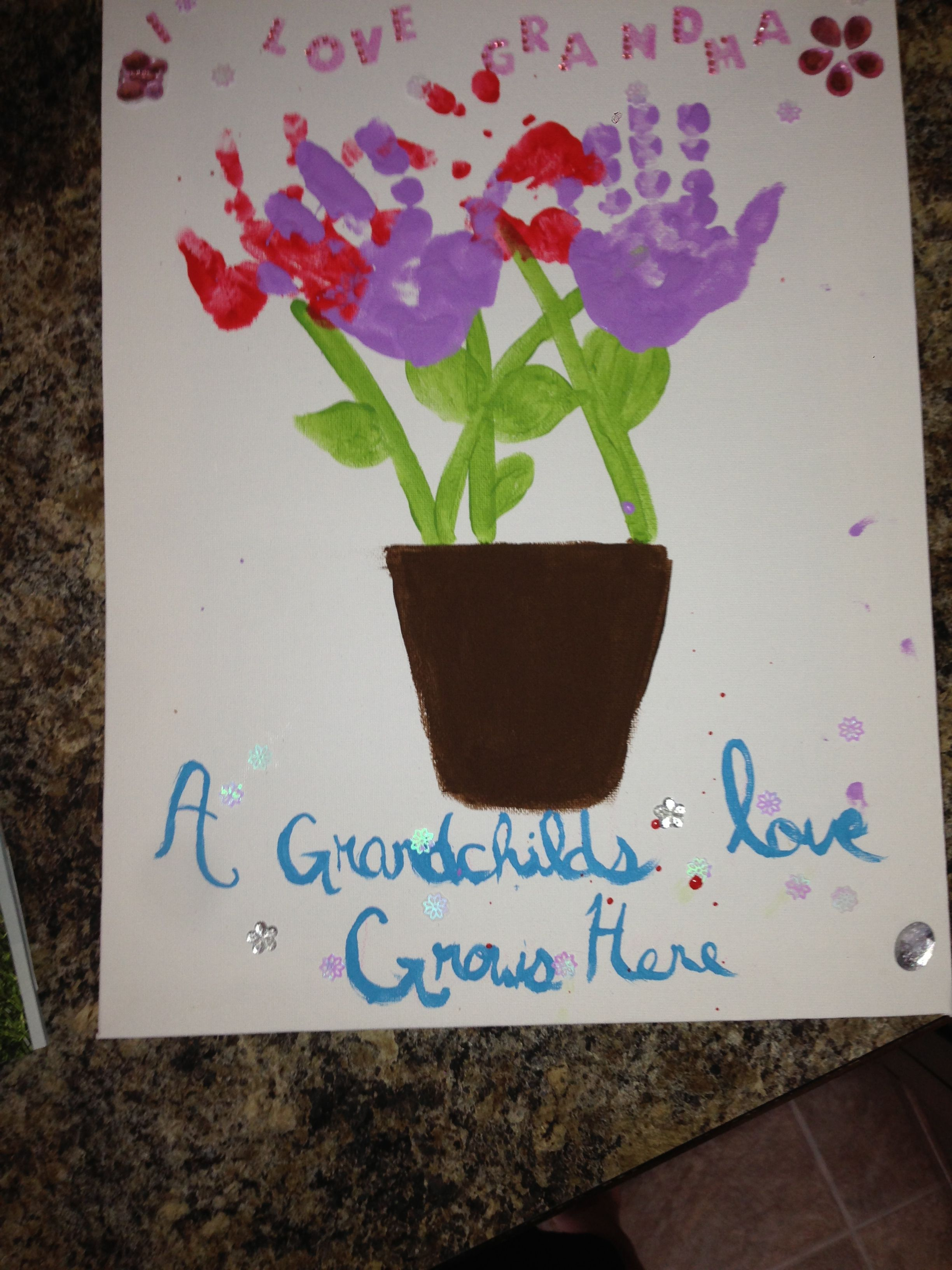 A gift for grandma on her birthday gifts pinterest for Good birthday presents for grandma