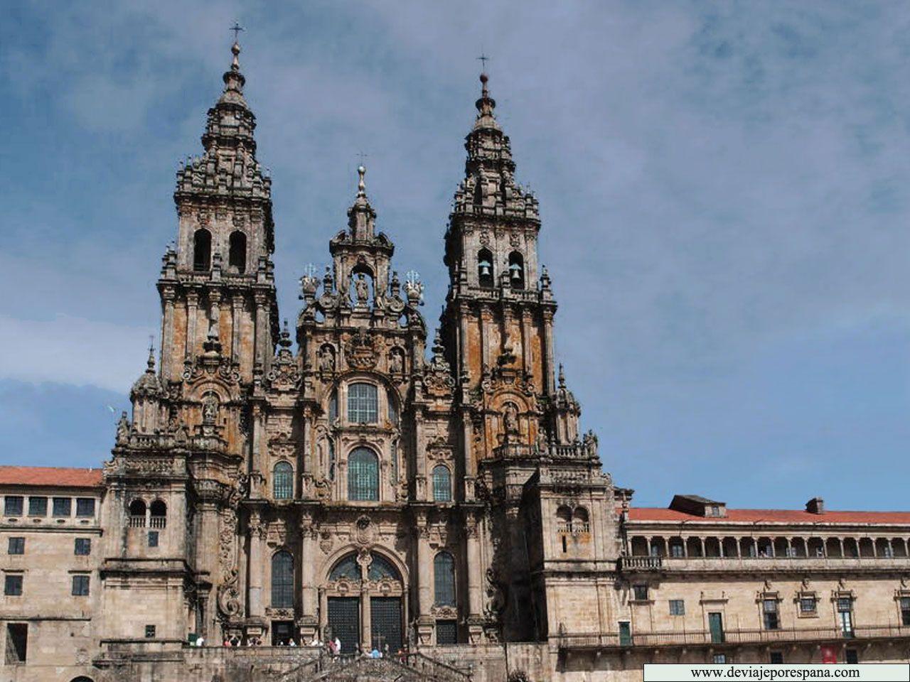 Catedral de Santiago de Compostela  GALICIA España  Pinterest