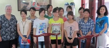 Scholarship applicants from Yangshuo High School.