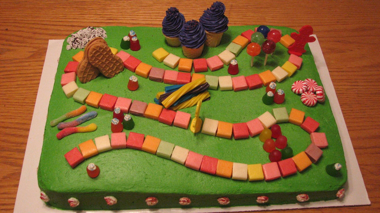 Candyland Cake Birthday Party Ideas Pinterest