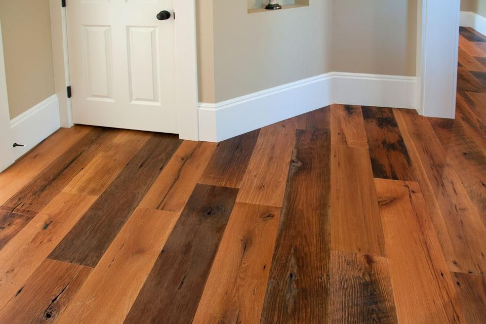Multi Colored Wood Laminate Flooring