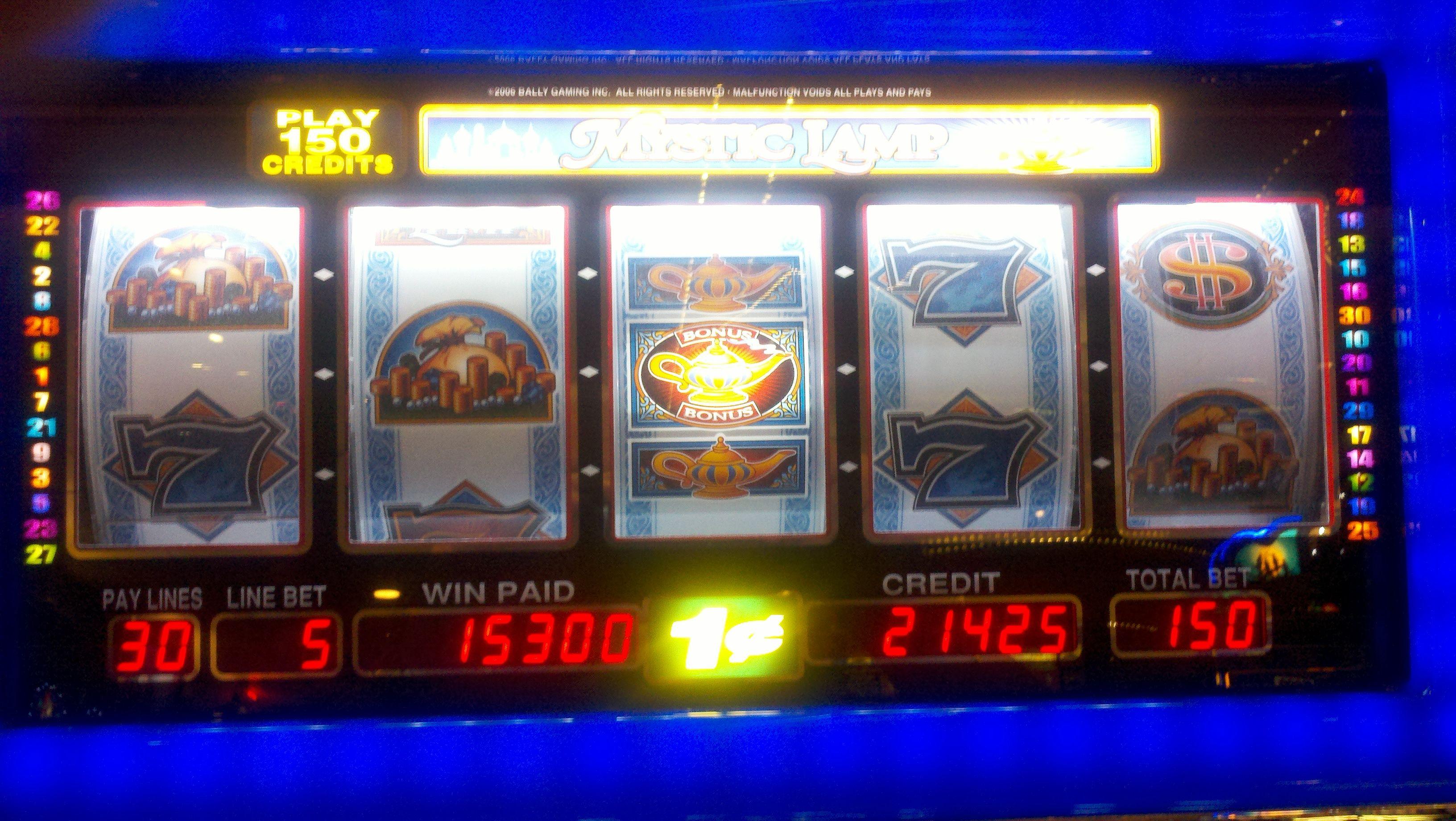 slots payout