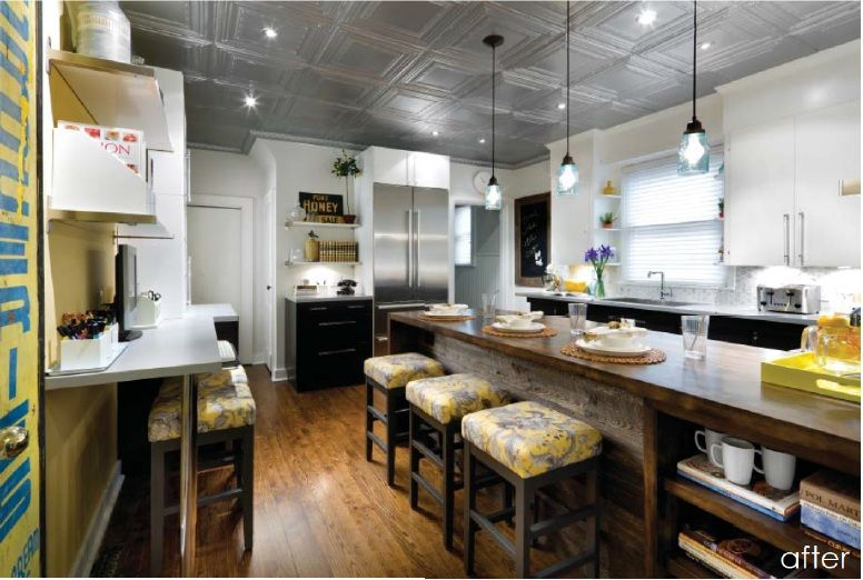 Candice olson kitchen with tin ceiling decorating ideas for Kitchen designs by candice olson