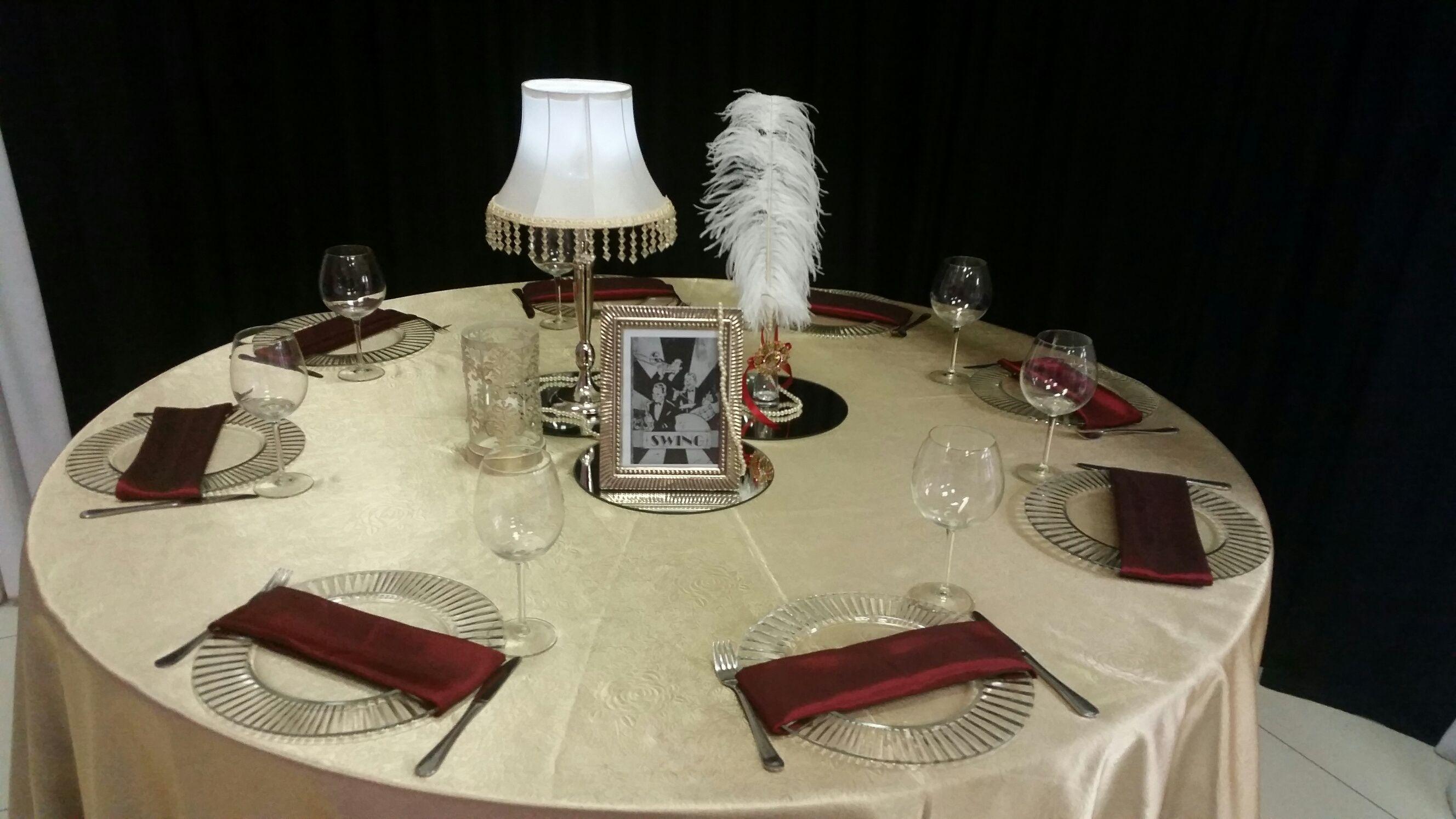 Table decor sa wedding decor 1940s theme pinterest for 1940s decoration