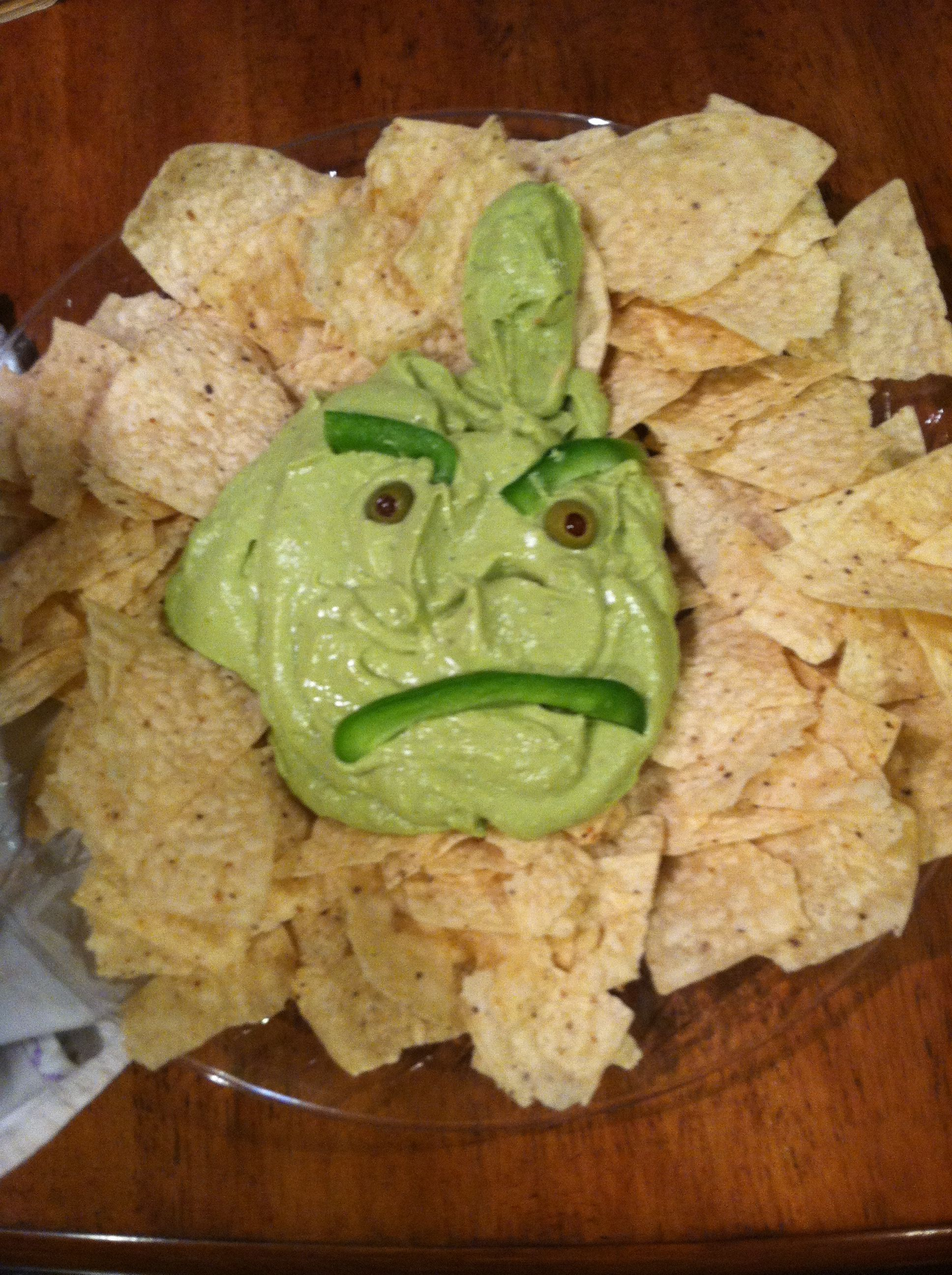 Grinch Guacamole | Christmas | Pinterest
