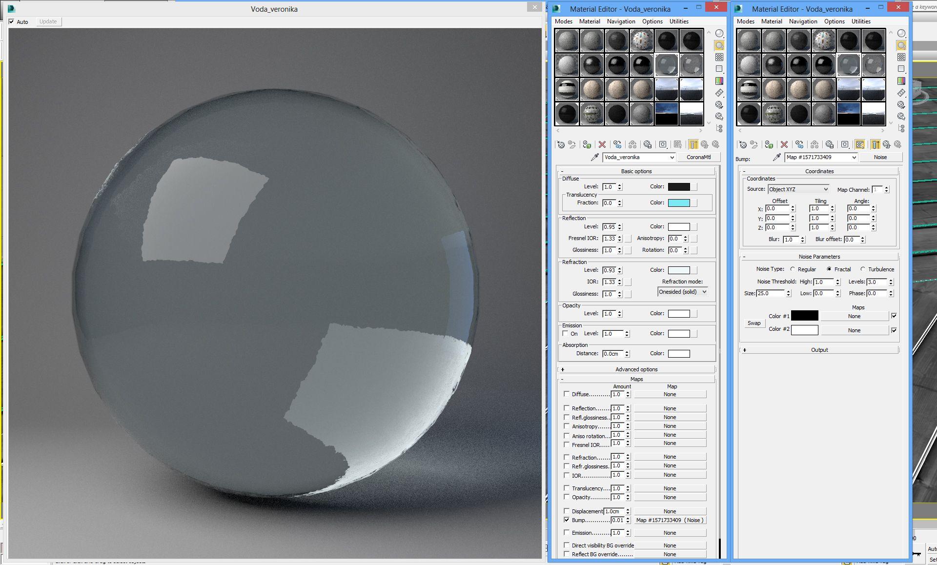 Как настроить материал сталь в 3d max уроки