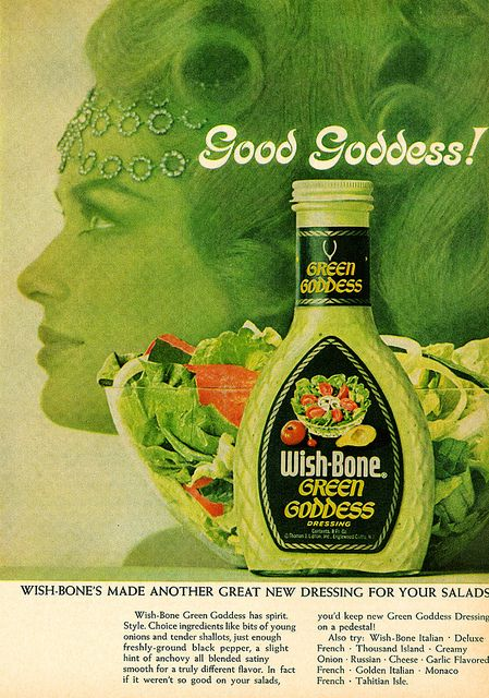 Green Goddess salad dressing | Things from the past | Pinterest