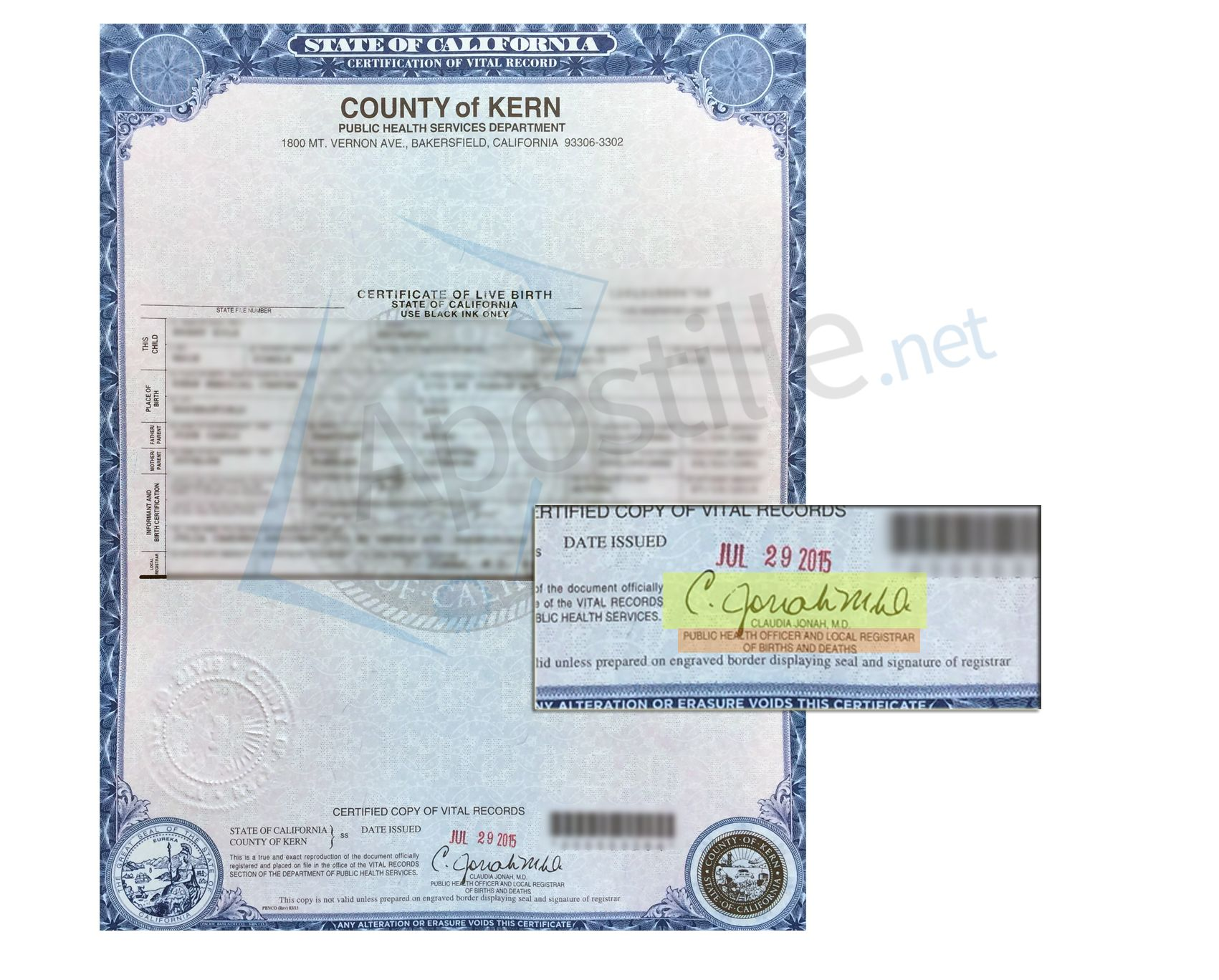 San Bernardino County Ca Vital Records Order Inducedfo