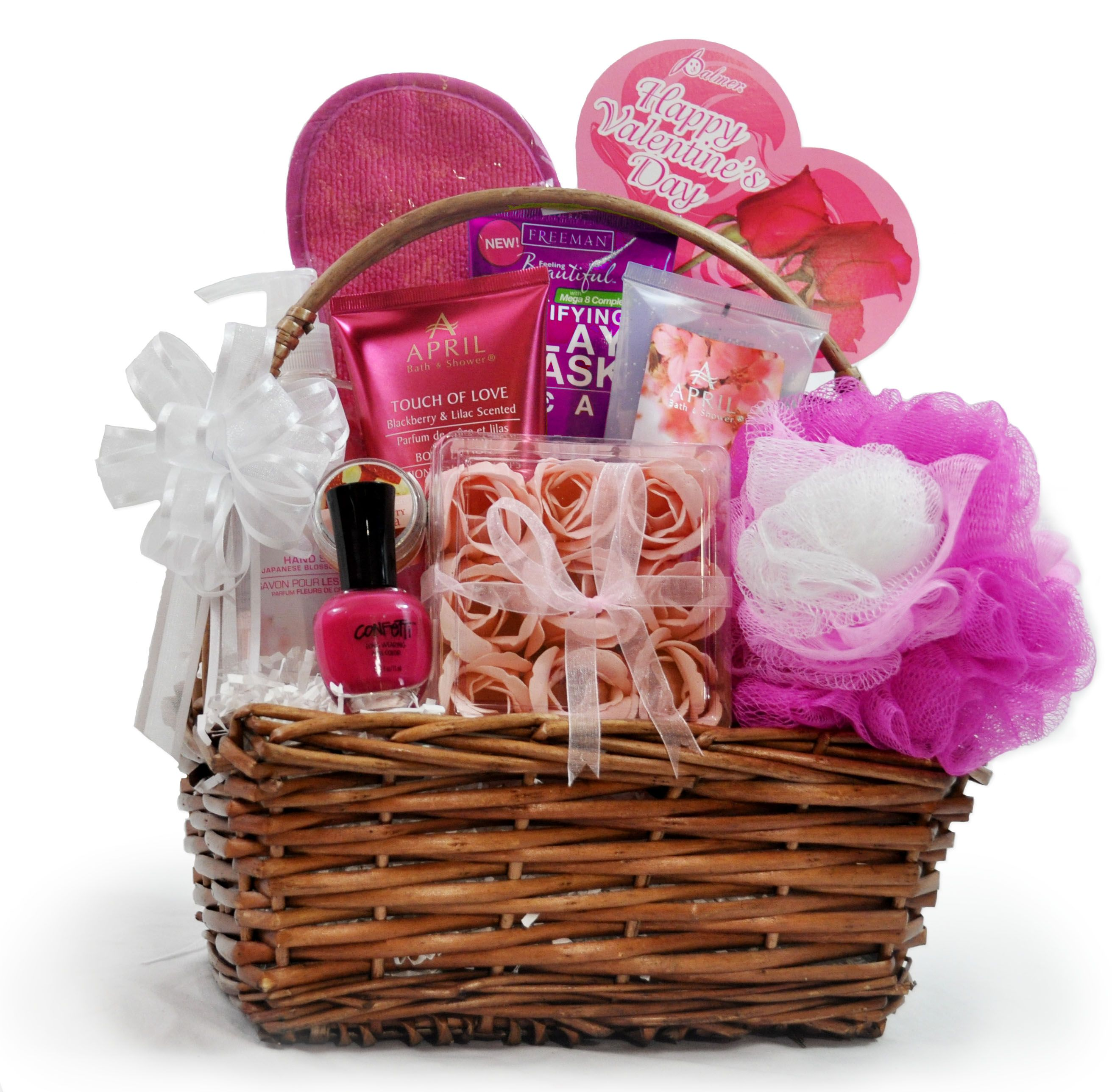 valentines day baskets toronto