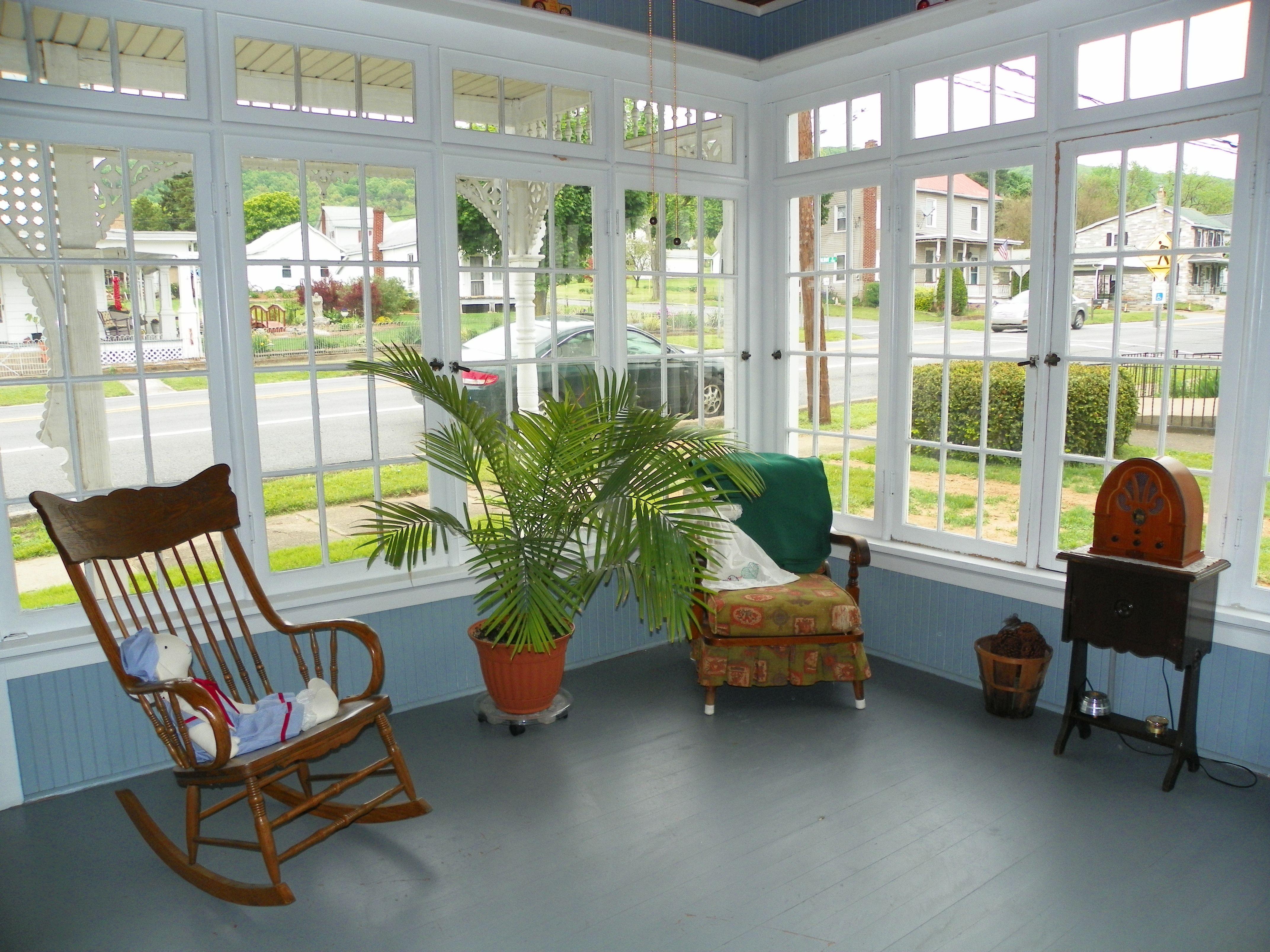 Enclosed Porch Porches Pinterest