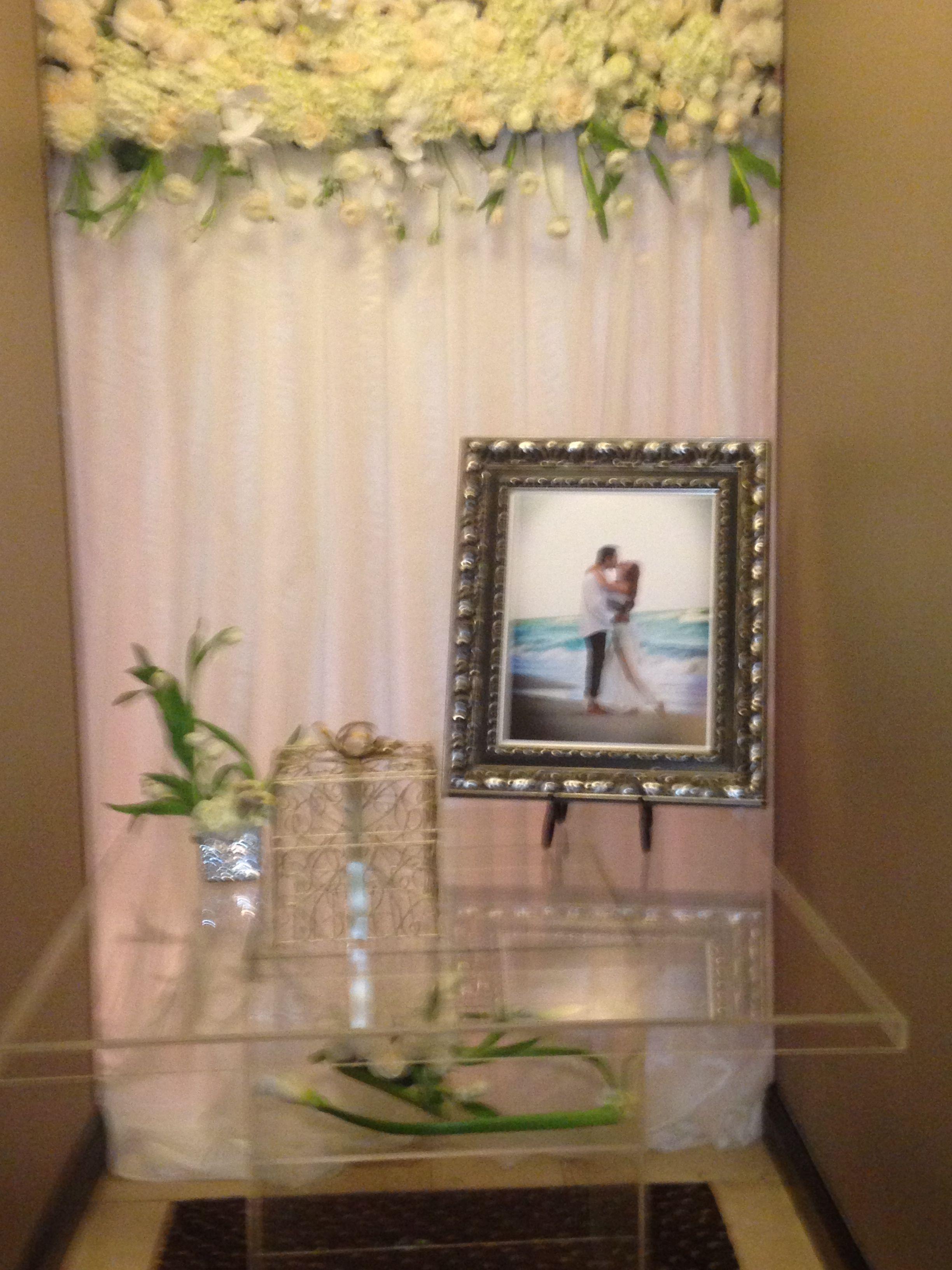 Wedding Present Table Pinterest : Beautiful gift table Weddings Pinterest