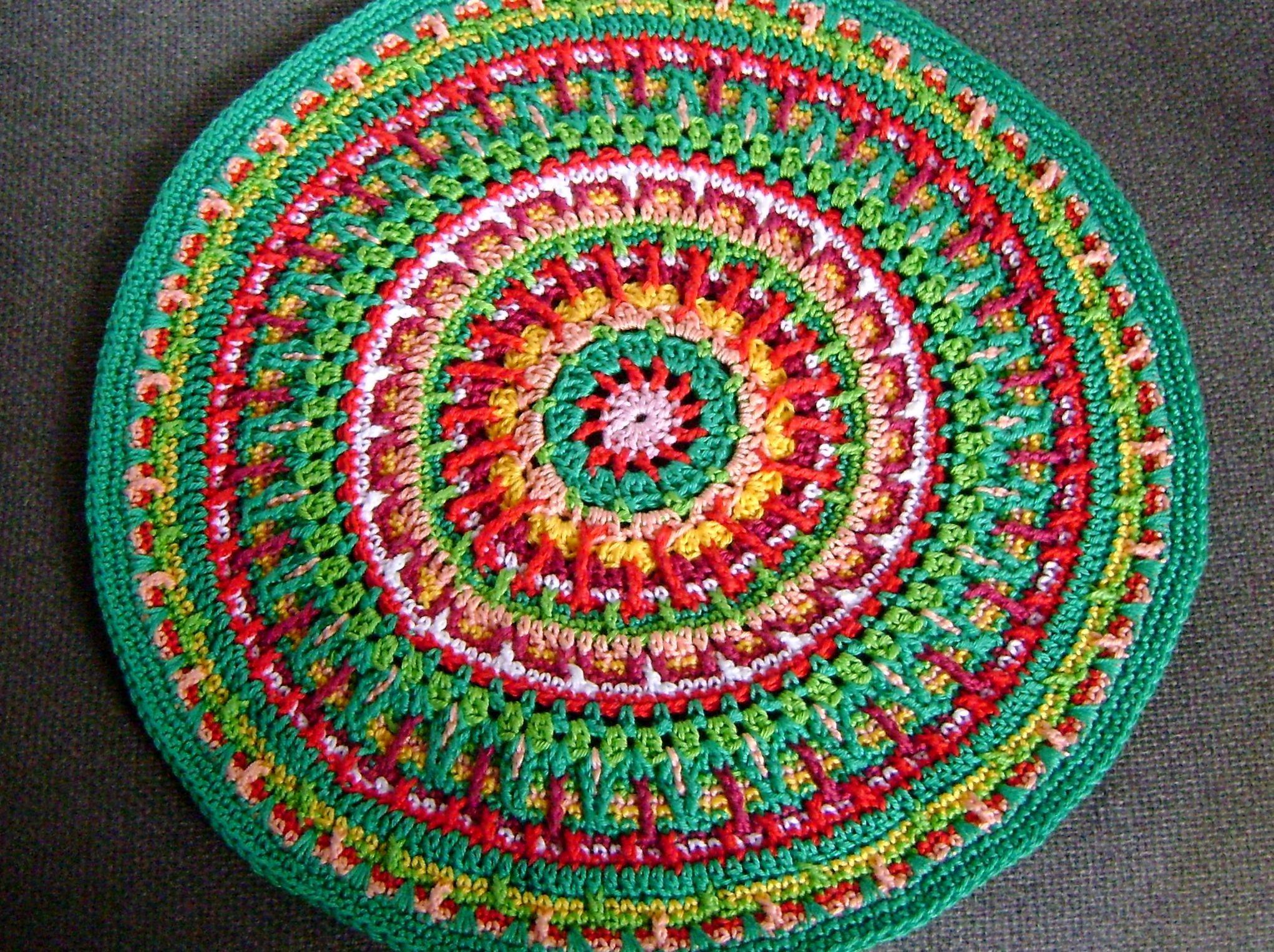 Crochet Mandala Crochet Mandala Pinterest
