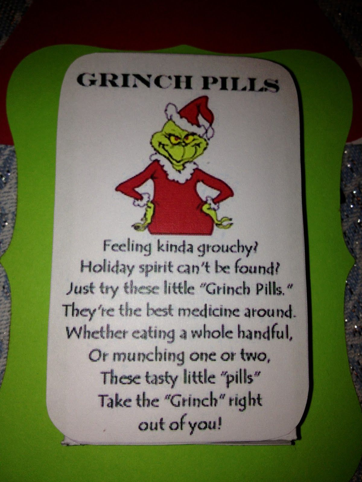 Grinch pills!   :::Splitting hairs:::   Pinterest