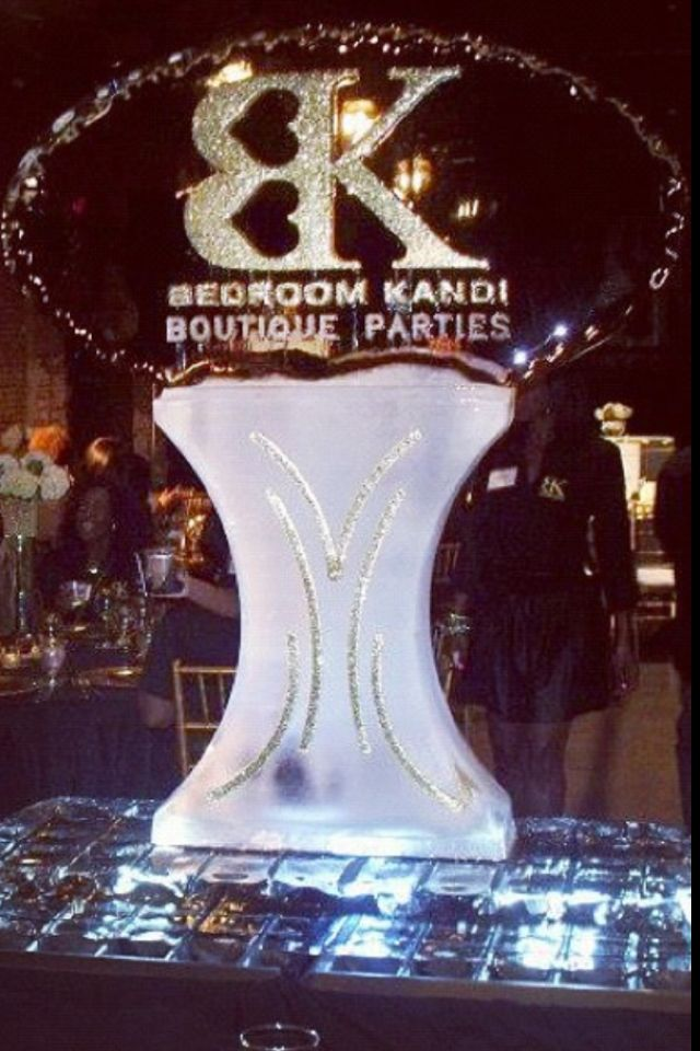 beautiful ice sculpture bedroom kandi boutique parties by ma