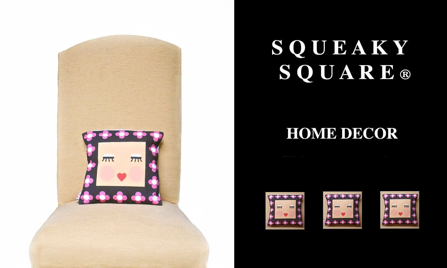 HOME DECOR SQUEAKY SQUARE ? by ele petti Pinterest