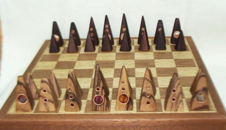 Contemporary Jerusalem Chess Set Chess Sets Pinterest