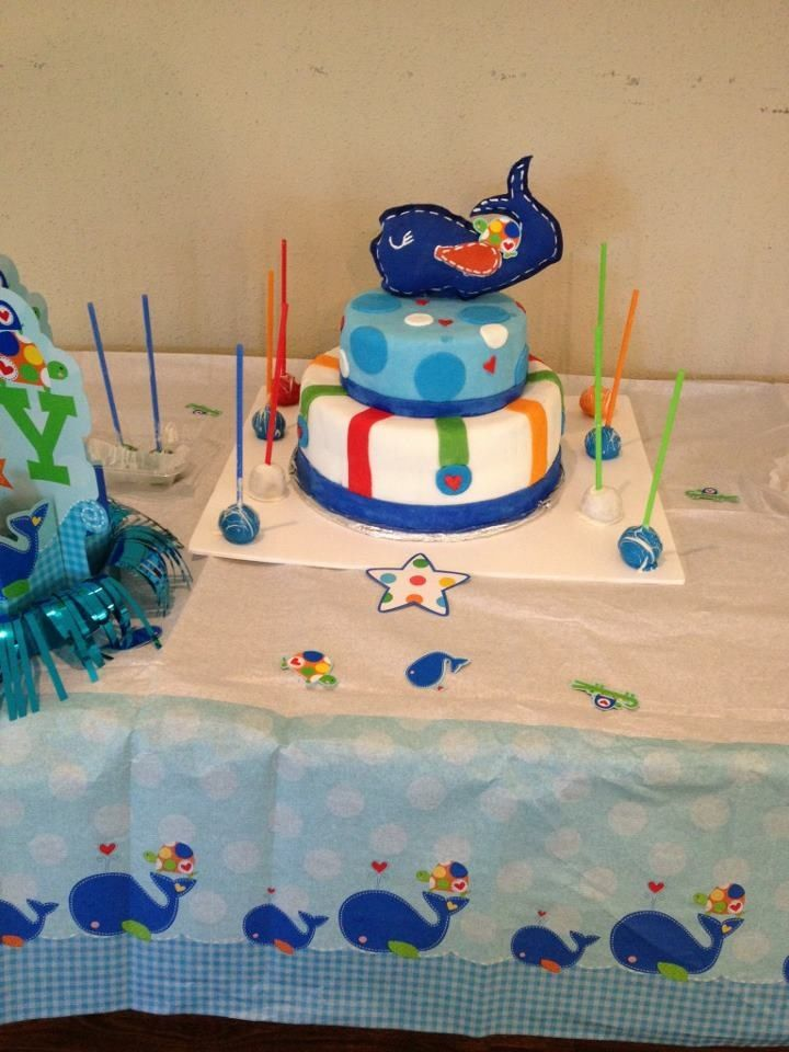 whale baby shower cake baby showers pinterest