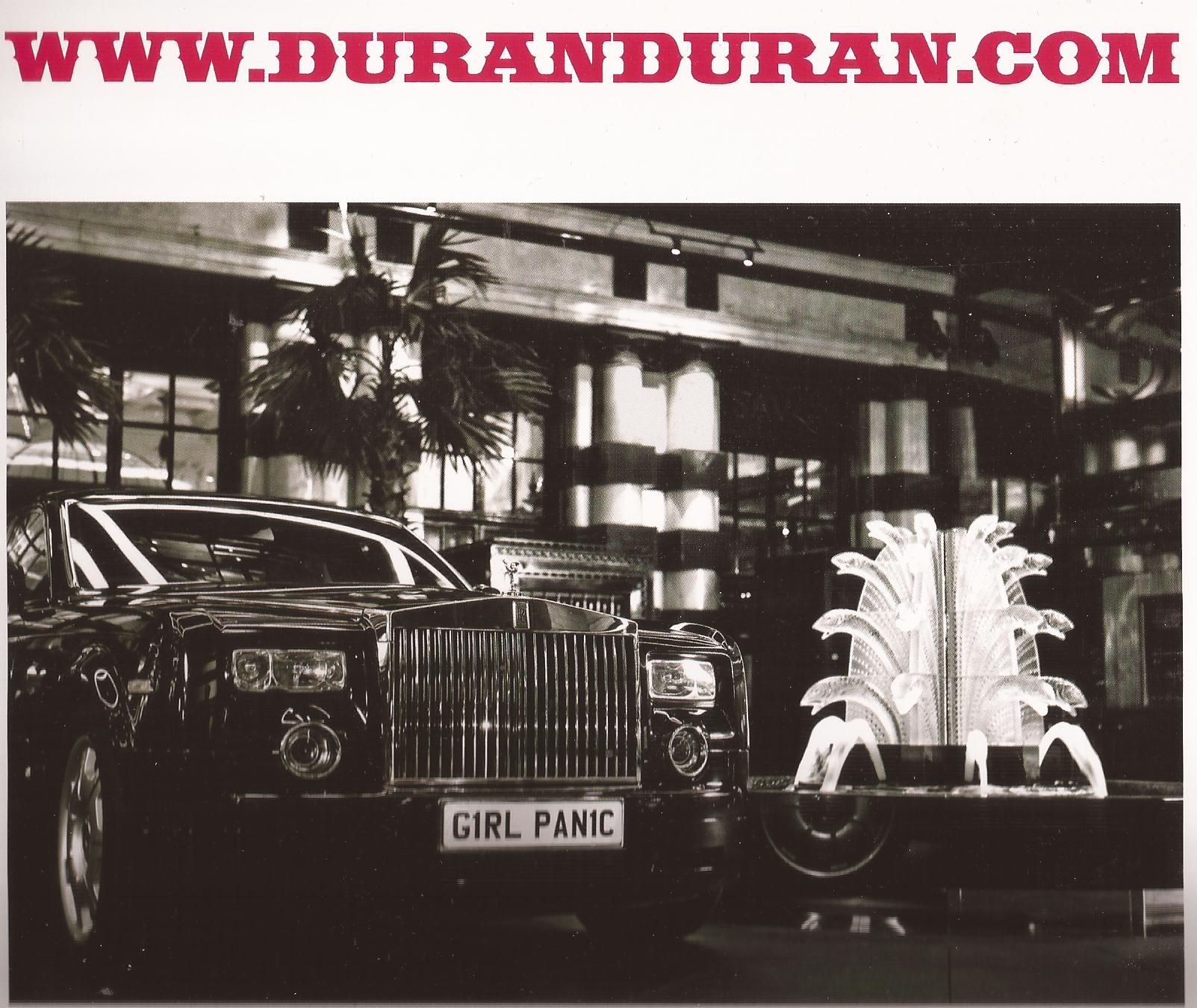 Duran Duran 2012 Calendar | Duran Duran | Pinterest