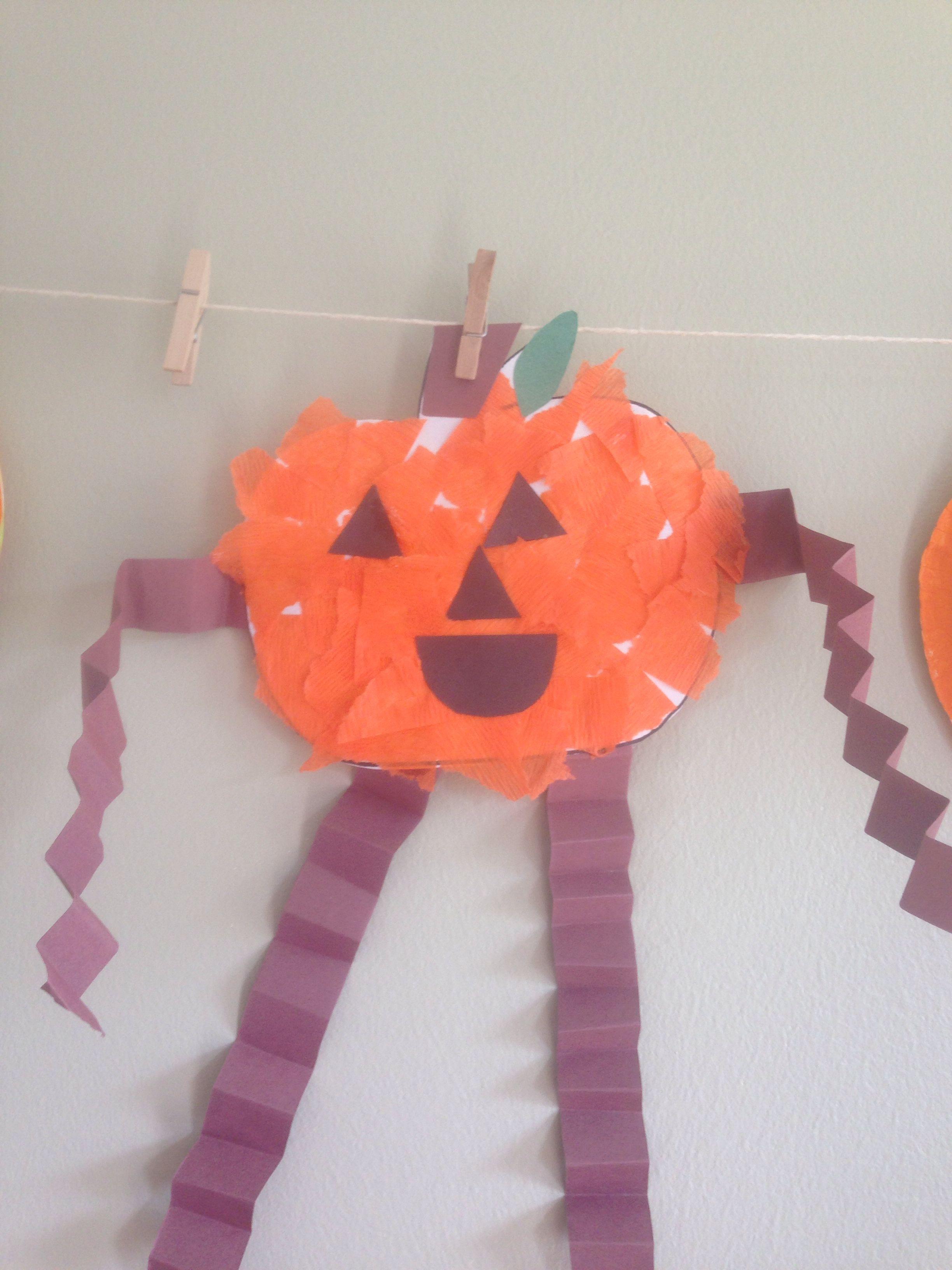 Pumpkin man for preschool fall preschool crafts pinterest for Fall crafts for preschoolers pinterest