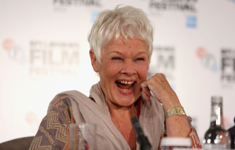 Actress Judi Dench Gets Her First Tattoo at 81 Years Old recommendations