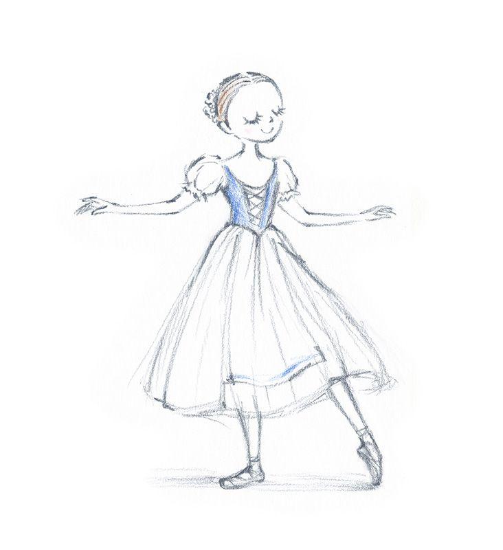 お姫様 ドレス イラスト 簡単