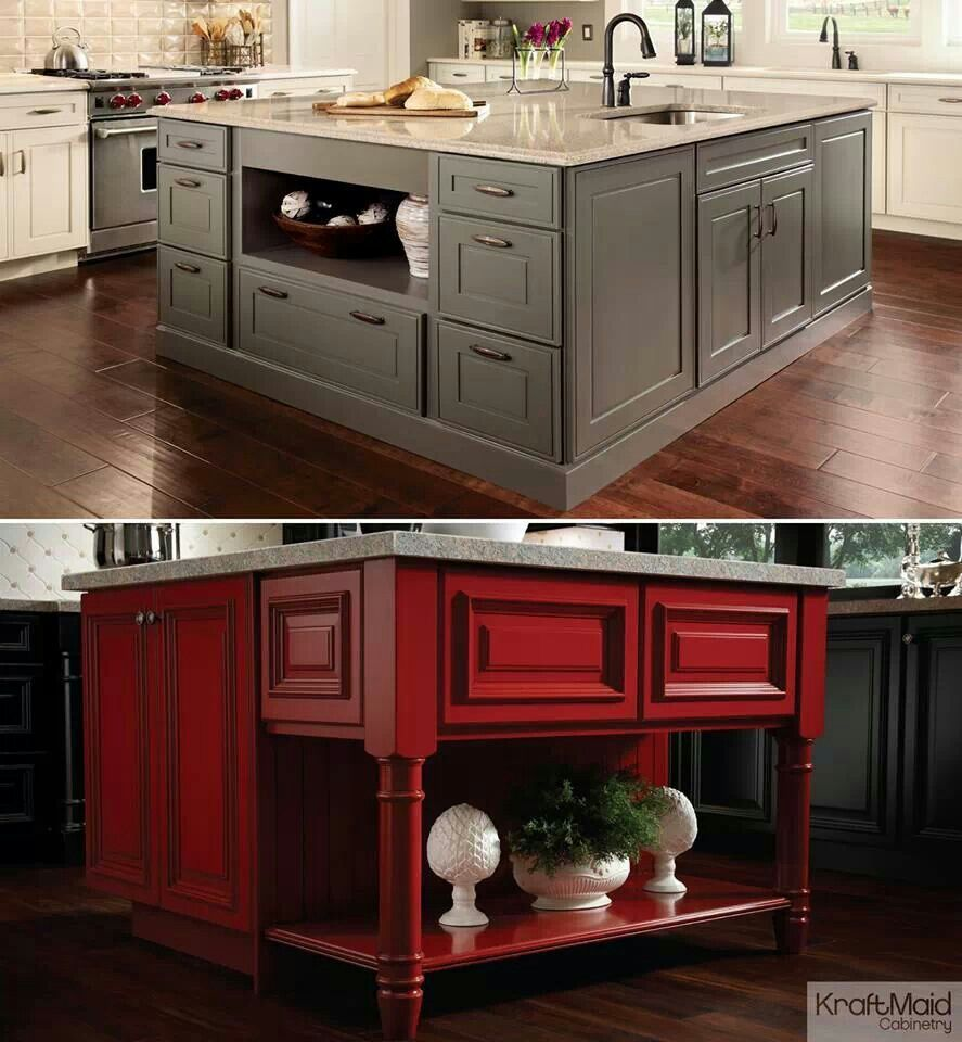 Kitchen Island Kraftmaid 28+ [ kraftmaid kitchen island ] | kraftmaid maple cabinetry in