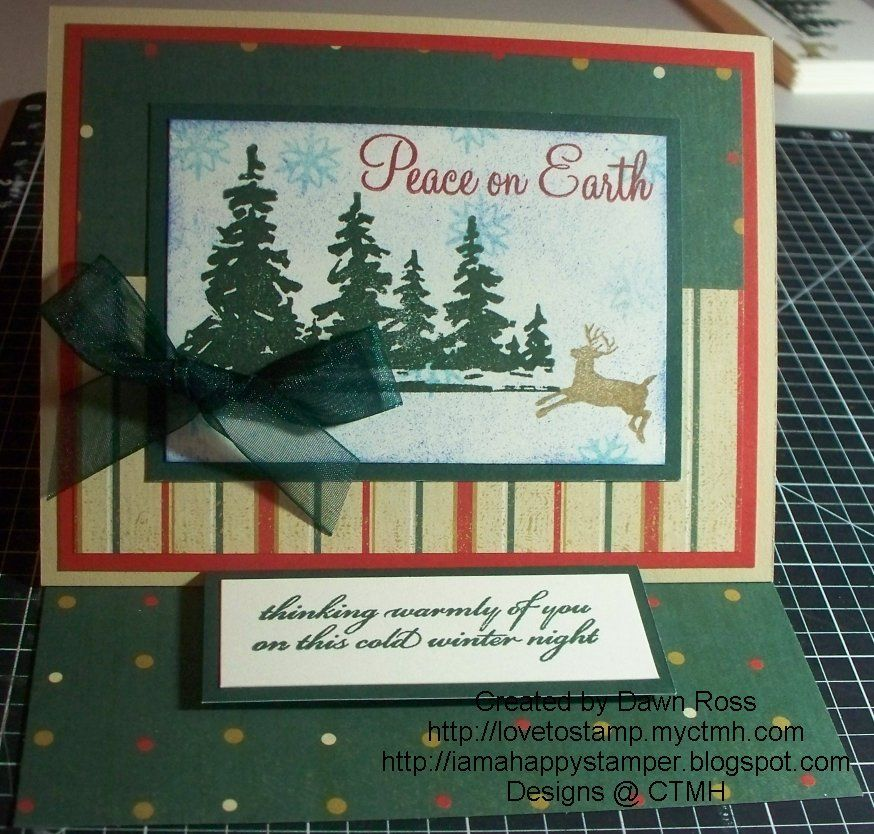 Peace on Earth Christmas card | Cards By Others | Pinterest