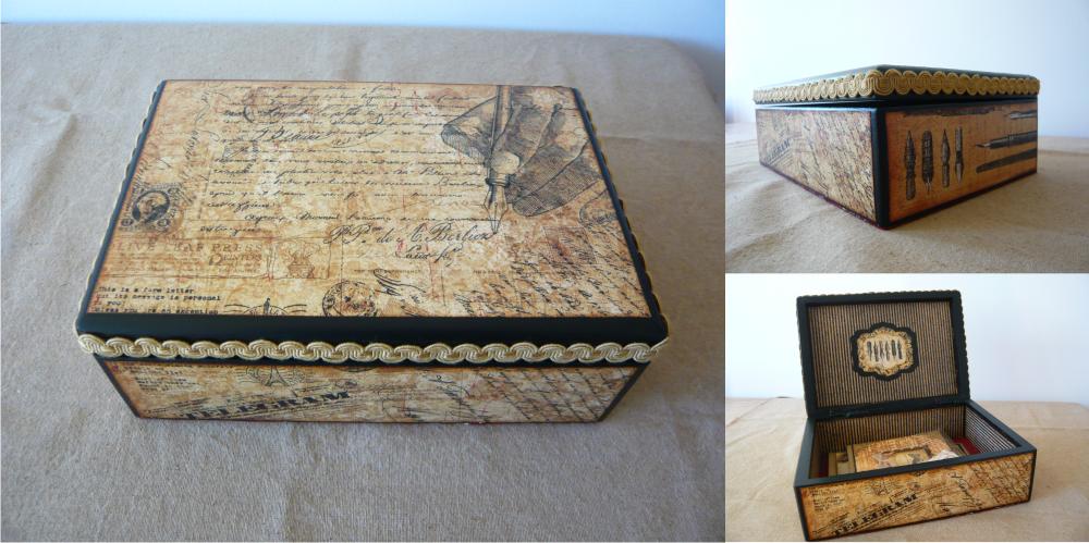 Cigar box crafts pinterest for Cardboard cigar box crafts