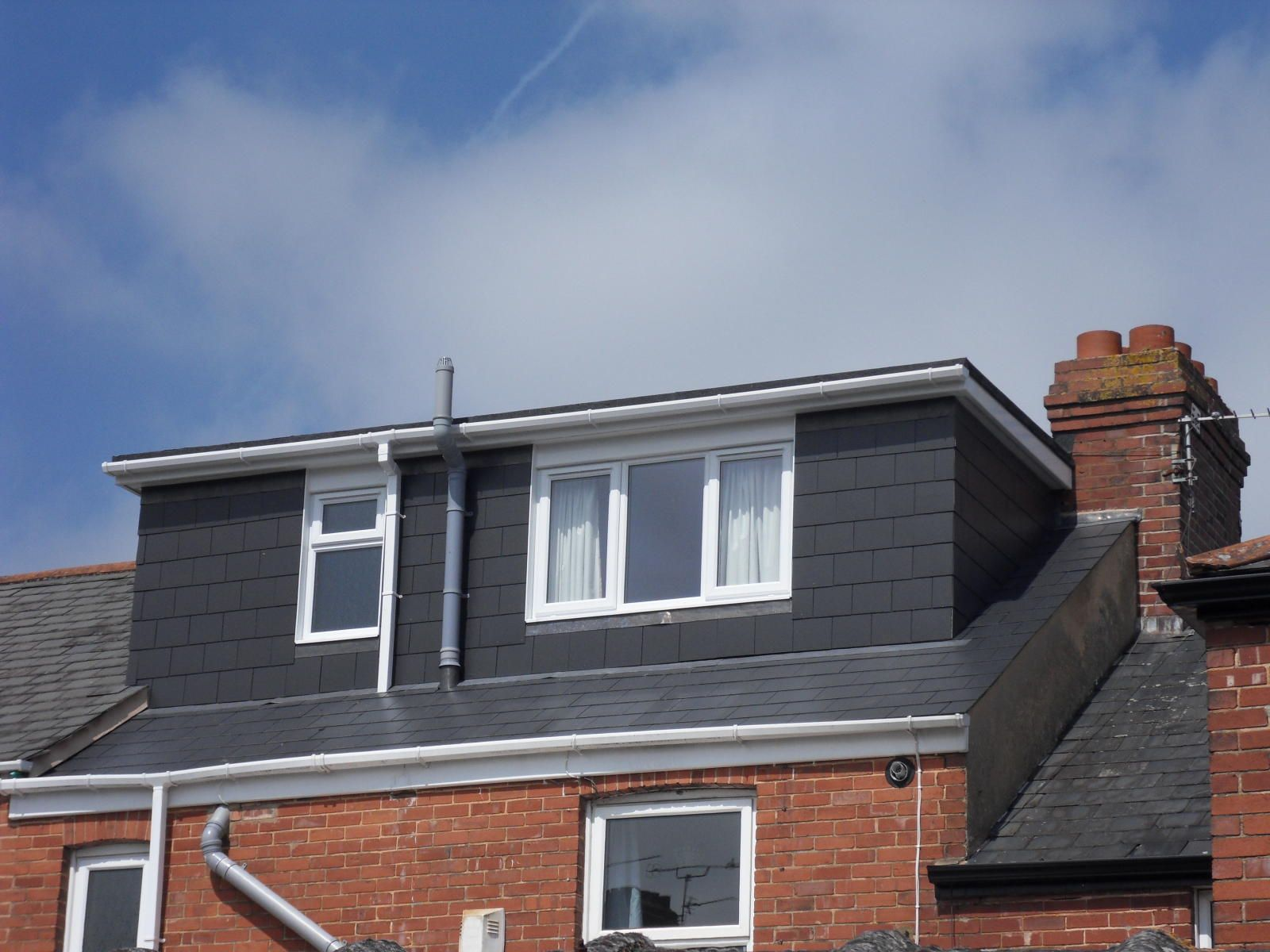 flat roof dormer by attic designs ltd for the home