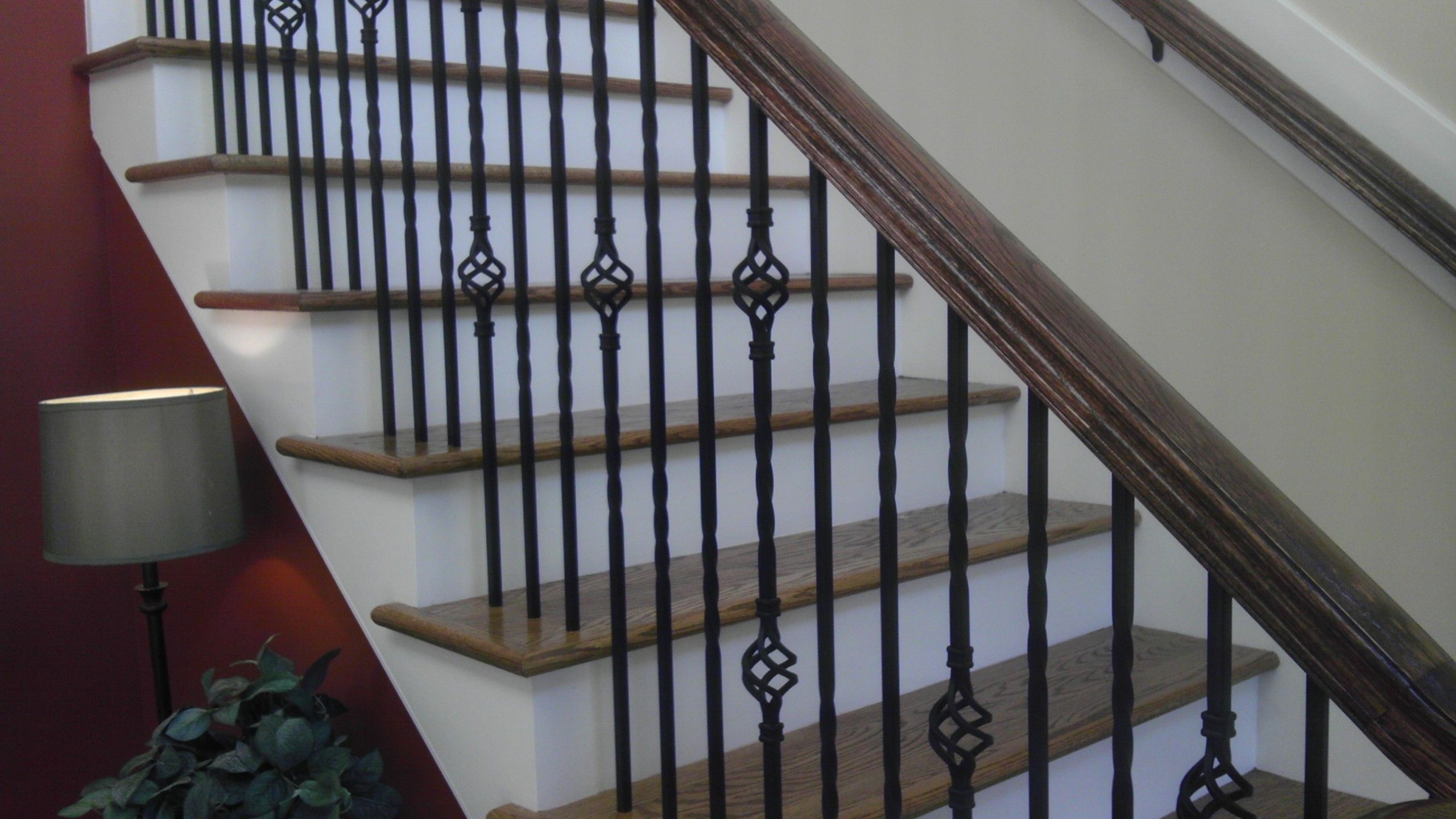 Wrought Iron Stair Railings Home Pinterest