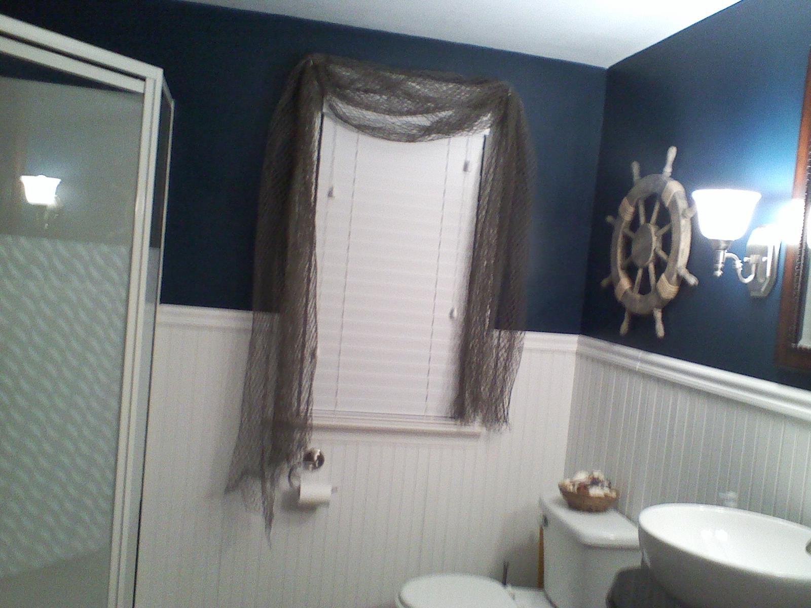 Nautical bathroom theme for the home pinterest for Nautical themed bathroom ideas