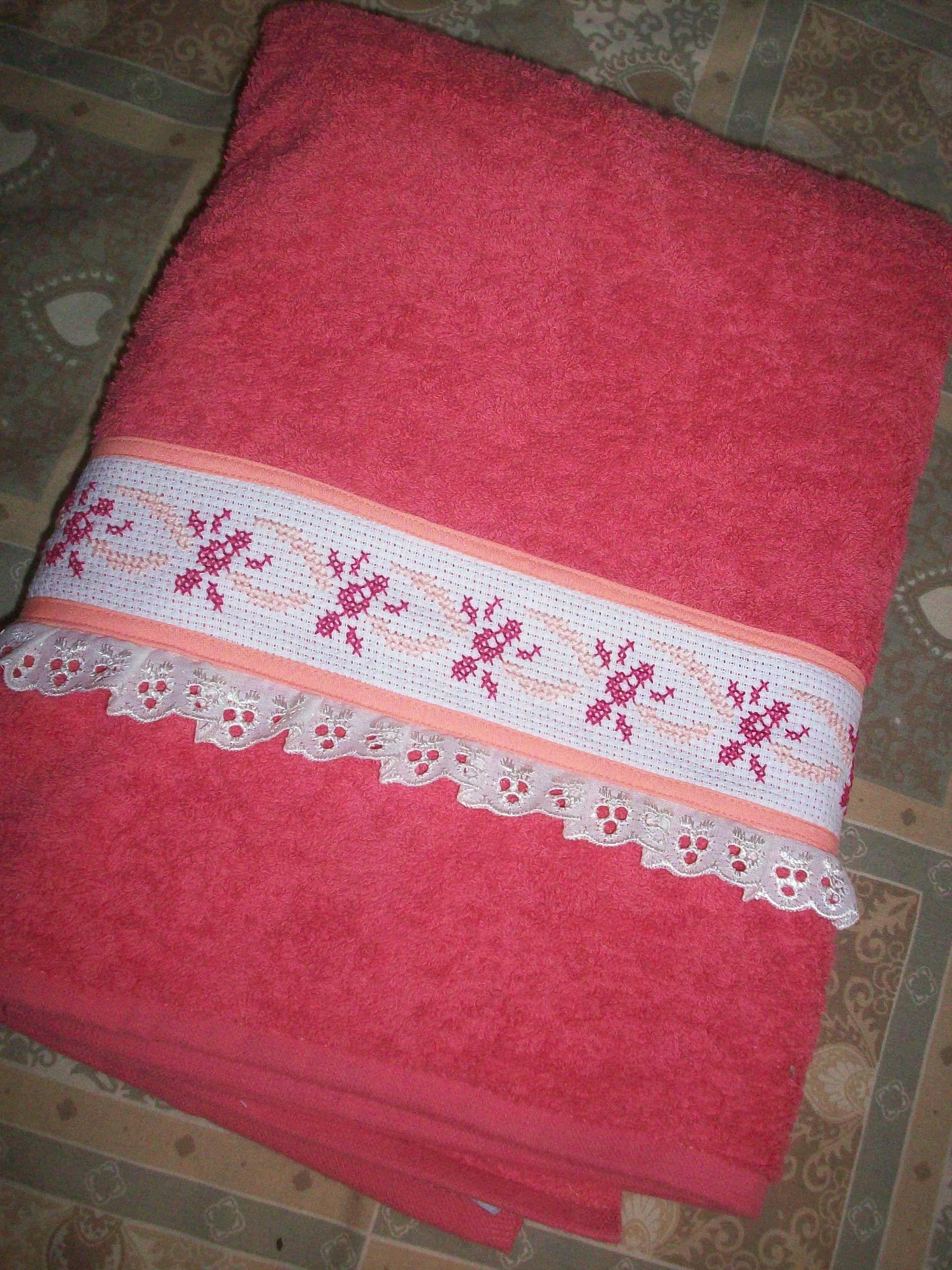 Toalla decorada lencer a para el hogar pinterest - Decoracion con toallas ...