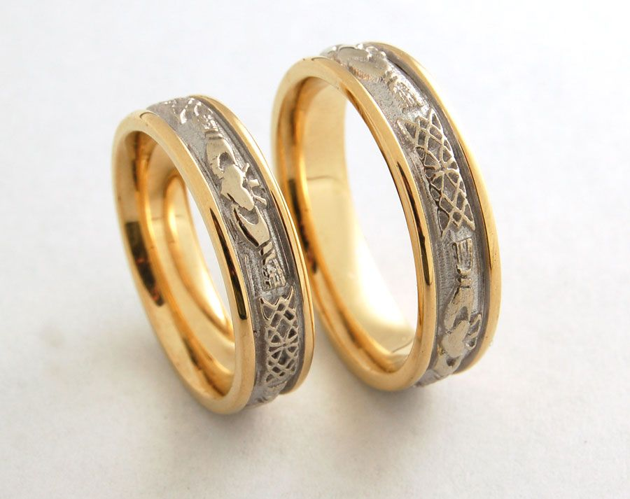 celtic style wedding rings celtic nordic images