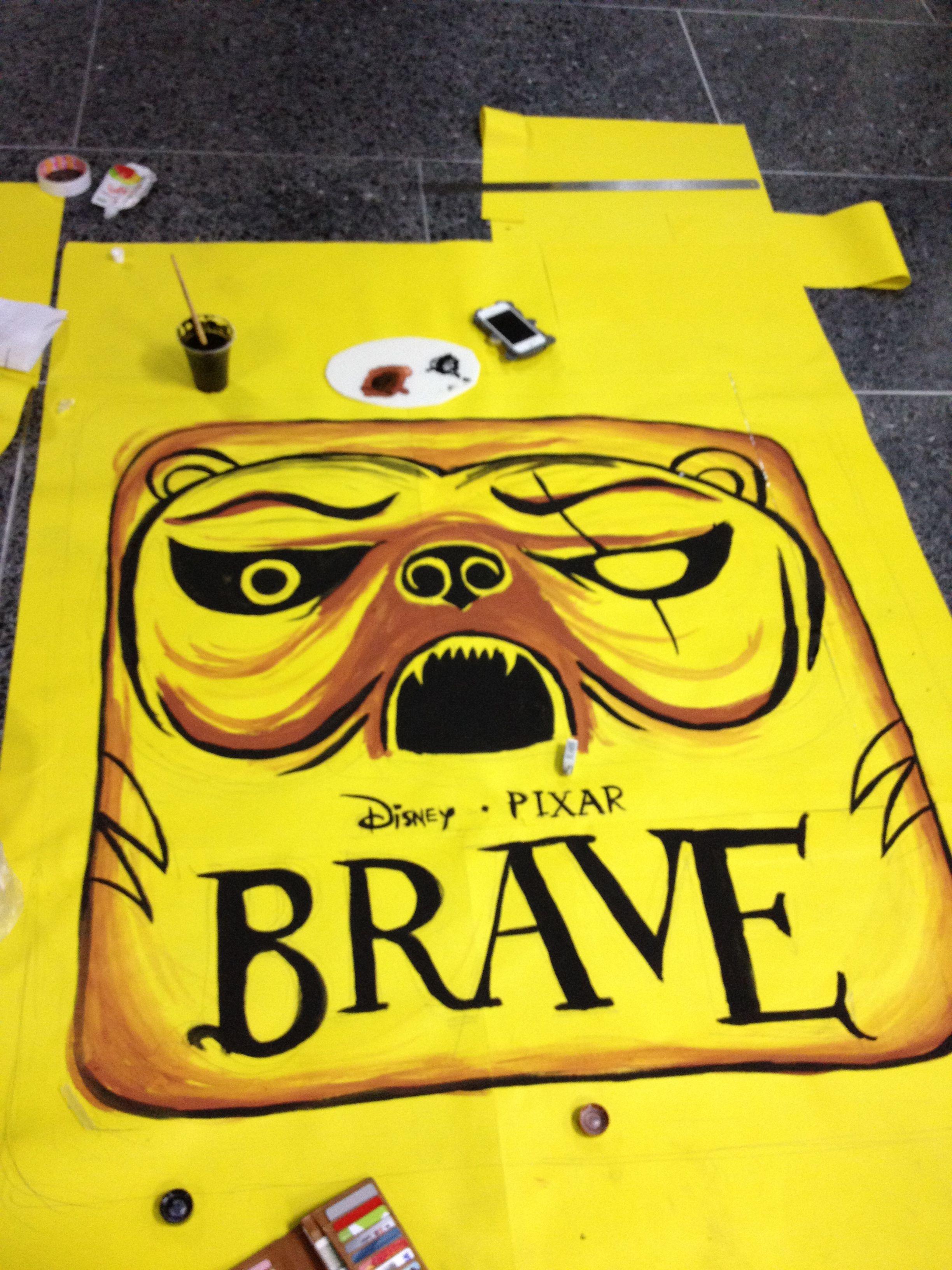 "Temple Run Brave"" app logo painting. | Graphic Design | Pinterest"