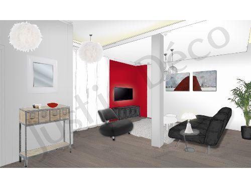 Planche Deco Salon Salle Manger Et Entre Ambiance Simple Mais Avec Du  Caractre.